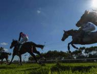 Racing meeting marks return of live sport to South Africa
