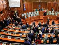 Kosovo parliament names new government after months of crisis