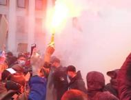 Ukraine protesters vent anger over police scandals