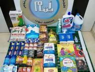 جمعية أيتام تبوك تستقبل 800 سلة غذائية ..