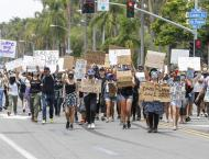 US protests head into second week over killing of African-America ..