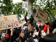 Global race protests mark George Floyd's death