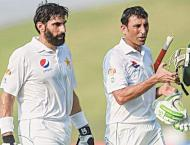 Rewinding the glorious playing days of Misbah, Younis