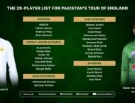 Haider Ali named in 29-player squad for England tour