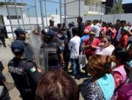 Six police killed in Mexico gun attack