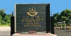 Allama Iqbal Open University declares June 5 last date for admission in Post-graduate programs