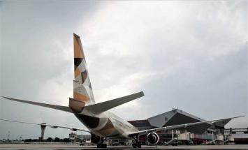 """هبوط أول رحلة لـ"""" الاتحاد للطيران .."""