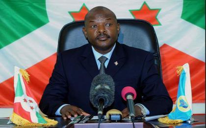 وفاة رئیس بوروندي بییر نکورونزیزا اثر نوبة قلبیة عن عمر ناھز 55 عاما