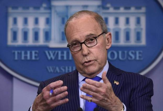 Kudlow: 'There Is No Second Spike' of Virus