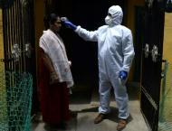 Outside Europe, nations floundering in virus' first wave