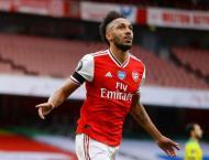 Aubameyang passes 50 Premier League goals as Arsenal rout Norwich ..