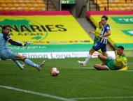 Trossard lifts Brighton as Norwich slip closer to relegation