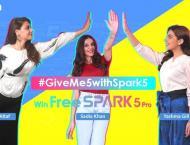 Rollick on #GiveMe5WithSpark5 Jingles on TikTok to Win TECNO Spar ..