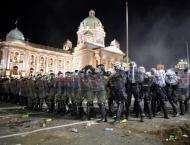 Over 40 Serbian Policemen Injured in Riots in Belgrade Over COVID ..