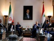 Iran says will strengthen Syria's air defence systems