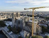 Greenpeace Activists Hang Climate Change Banner Over Notre Dame t ..