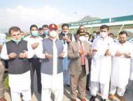 KP Chief Minister inaugurates Chakdara Interchange on Swat Motorw ..