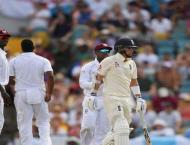 Holder takes six as England slump to 204 all out