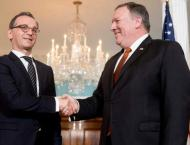 Pompeo, Maas Discuss US-EU Cooperation in Confronting China - Sta ..