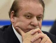 NAB pastes summons notice against Nawaz Sharif outside court