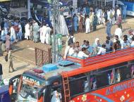 AAC visit bus, coaches terminals, inspects SOPs