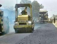 Road construction starts at Jaranwala