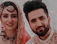 Sarah Khan shares her wedding pictures with fans