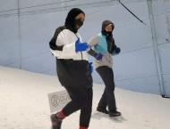 Dubai makes the impossible possible with Snow Run in peak desert  ..