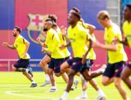 Dembele, Lenglet and Griezmann return as Barca resume training