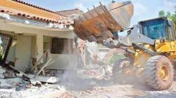 Lahore Development Authority demolishes illegal structures