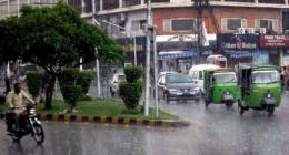 Rain forecast for city during next 24 hours