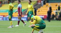 Norwich City relegated from the Premier League