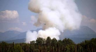Nearly 300 wildfires in Siberia amid record warm weather