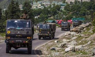 Chinese Troops Pull Back 1.2 Miles From Site of Clashes Along Ind ..