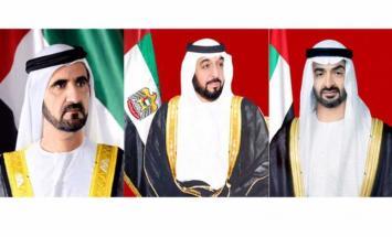 رئيس الدولة ونائبه ومحمد بن زايد يهنئون ..