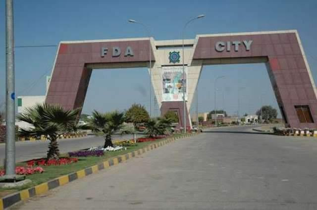 Faisalabad Development Authority (FDA) sealed a plot in Madina Town over illegal construction