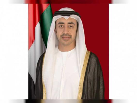 Abdullah bin Zayed: COVID-19 crisis further solidified UAE, South Korea partnership