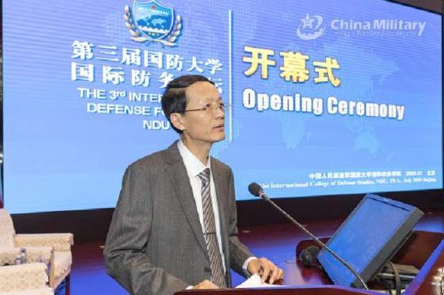 3rd NDU International Defense Forum kicks off in Beijing