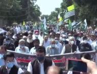 'Youm-e-Istehsal' rally held in Sargodha
