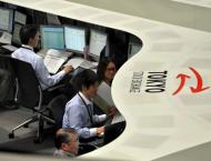 Tokyo stocks down on strong yen with eyes on earnings