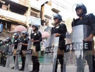 Control room setup for ensuring Muharram Security