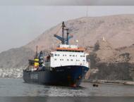 UAE aid ship arrives in Al Mukalla Port, Yemen