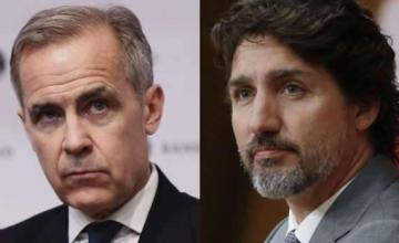 Official Says Trudeau, Ex-Central Bank Chief in Contact Amid Advi ..