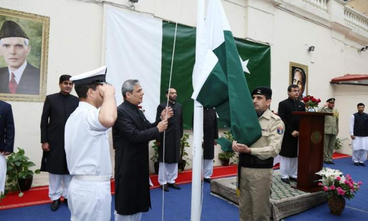 Green flag unfurls at Pak missions with felicitations poured in from world leaders, diplomats