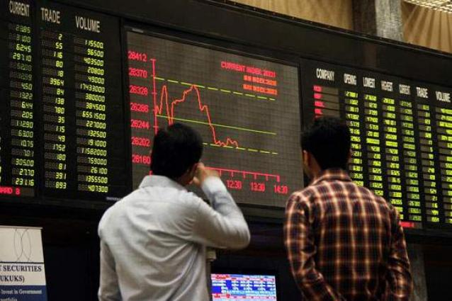 Pakistan Stock Exchange witnesses bearish trend as KSE-100 down by 114.93 points