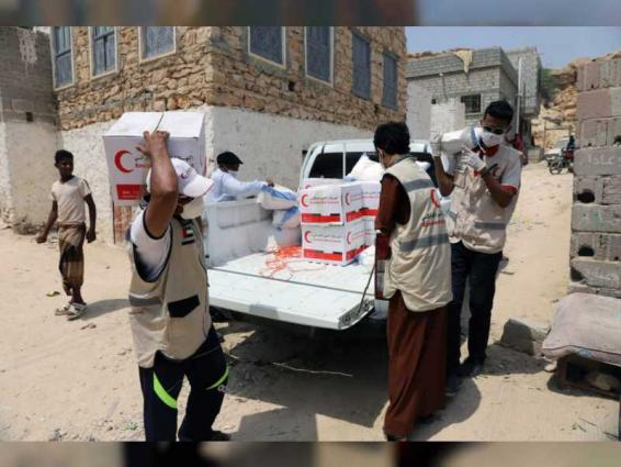 More food assistance delivered to needy families in Mukalla District, Yemen