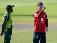 England bowl in 3rd T20 as Pakistan's Haider Ali makes debut