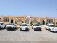ERC presents vehicles to support service institutions in Hadramau ..