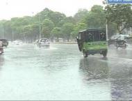 Lahore city receives heavy rain