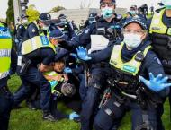 Dozens arrested in 'Freedom Day' Aussie lockdown protests